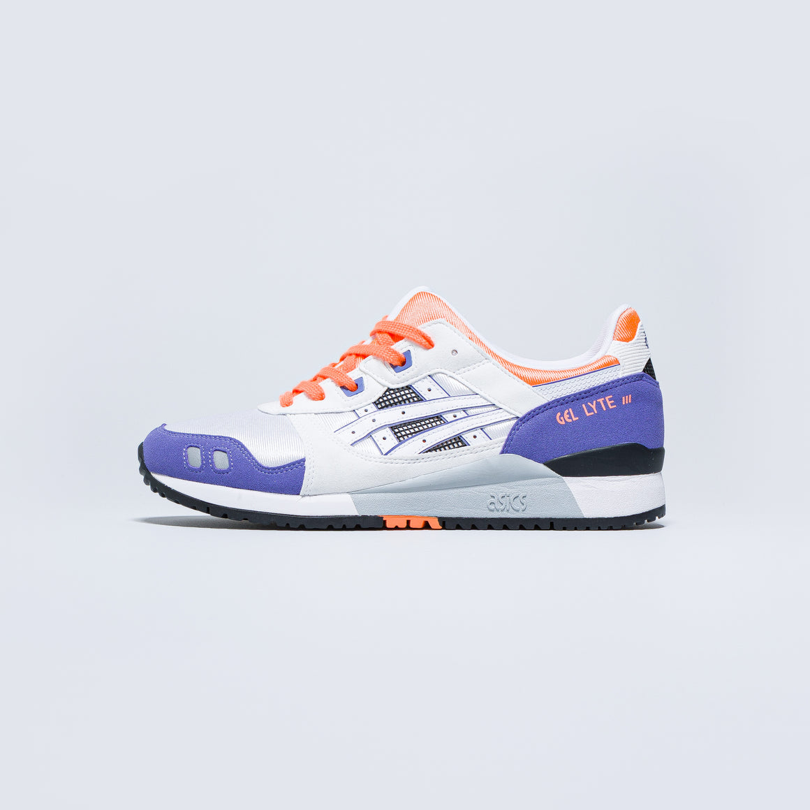 Asics - Gel-Lyte III OG - White/Purple/Orange - Up There