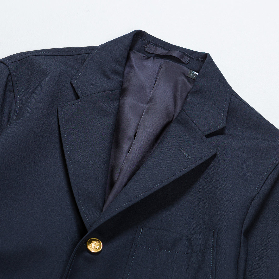 Beams Plus - 3B Blazer - Navy Combat Wool - Up There