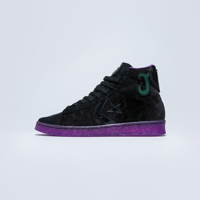 Converse - Pro Leather Hi x Joe Fresh Goods - Black/Amaranth Purple - Up There