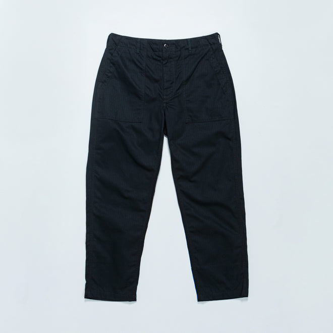 Engineered Garments - Fatigue Pant - Black Cotton Herringbone Twill - Up There