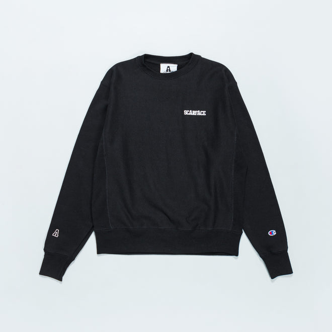 For The Homies - Scarface Crew Sweat - Black - Up There