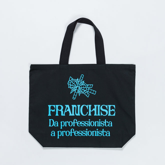 Franchise - Black Tote - Black - Up There