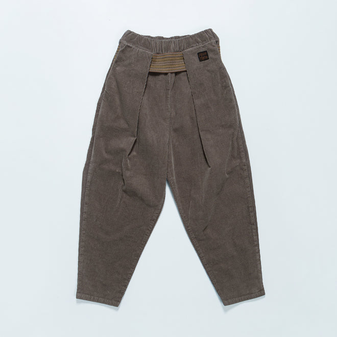 Kapital - 8W Stretch Corduroy Shimokita Tapered Pants - Gray - Up There