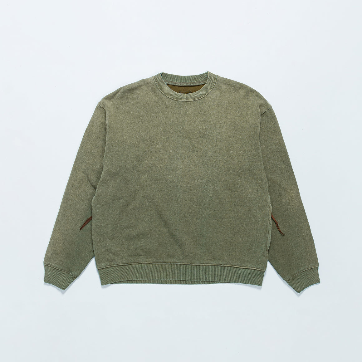 Kapital - Fleecy Knit Bivouac Big Sweat - Khaki - Up There