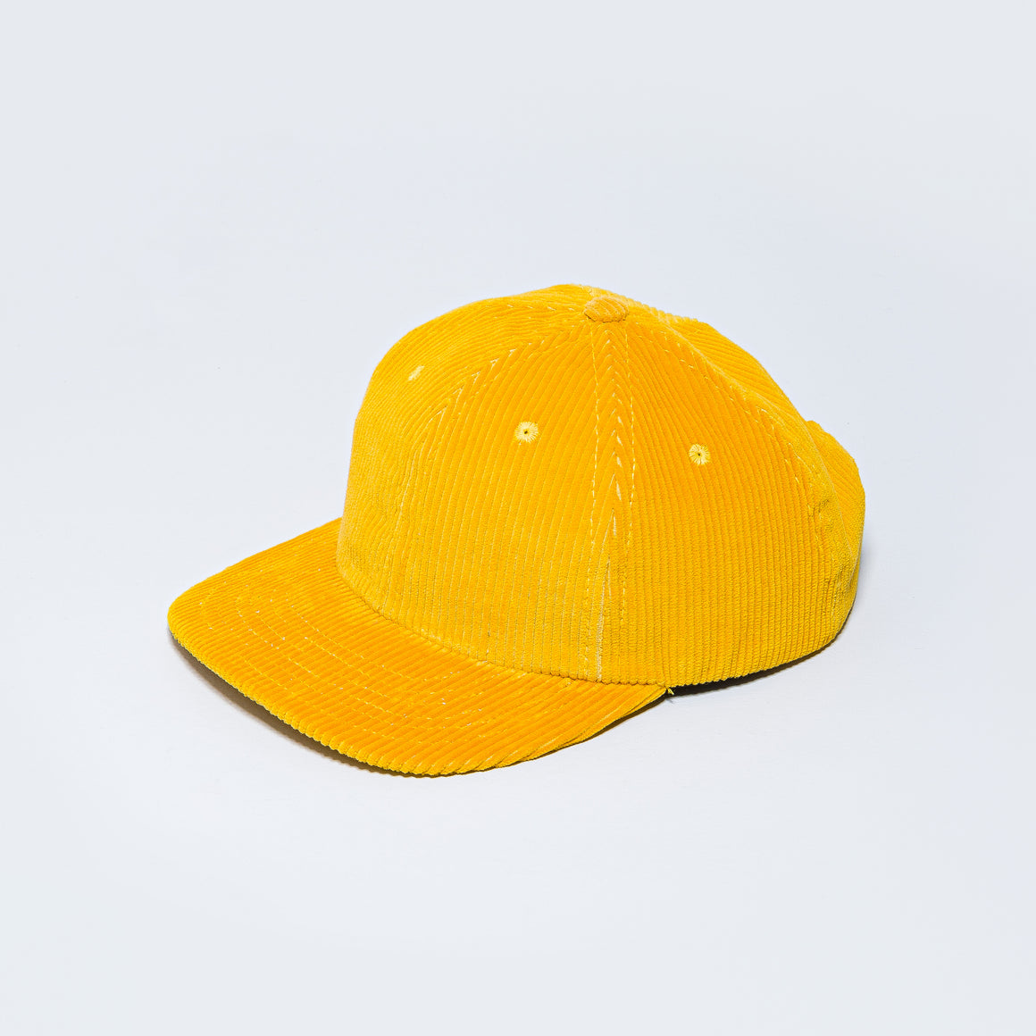 Lite Year - Six Panel Cap - Gold Eight Wale Corduroy - Up There