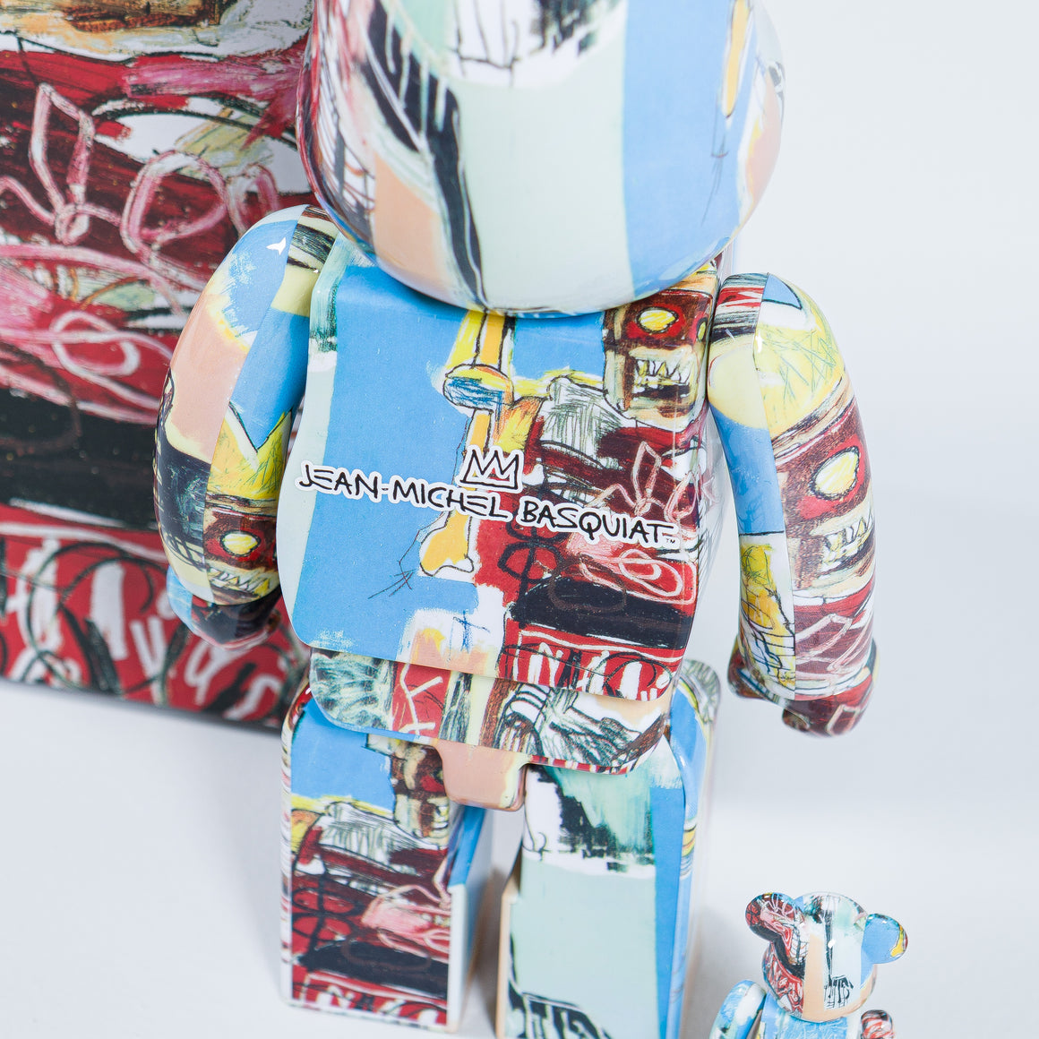 Medicom Toy - Be@rbrick 400% - Basquiat #6 - Up There