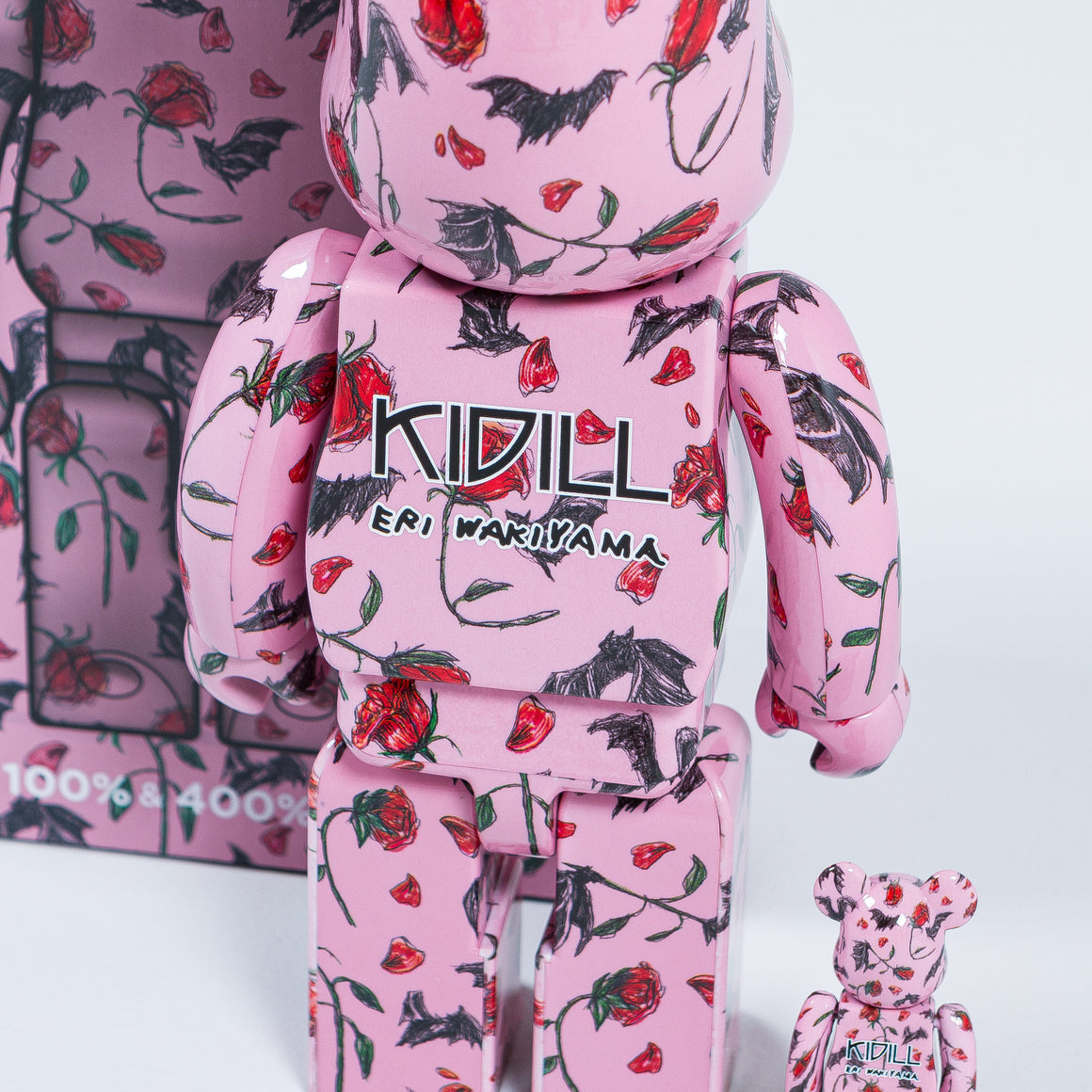Medicom Toy - Be@rbrick 400% - Kidill Pink - Up There
