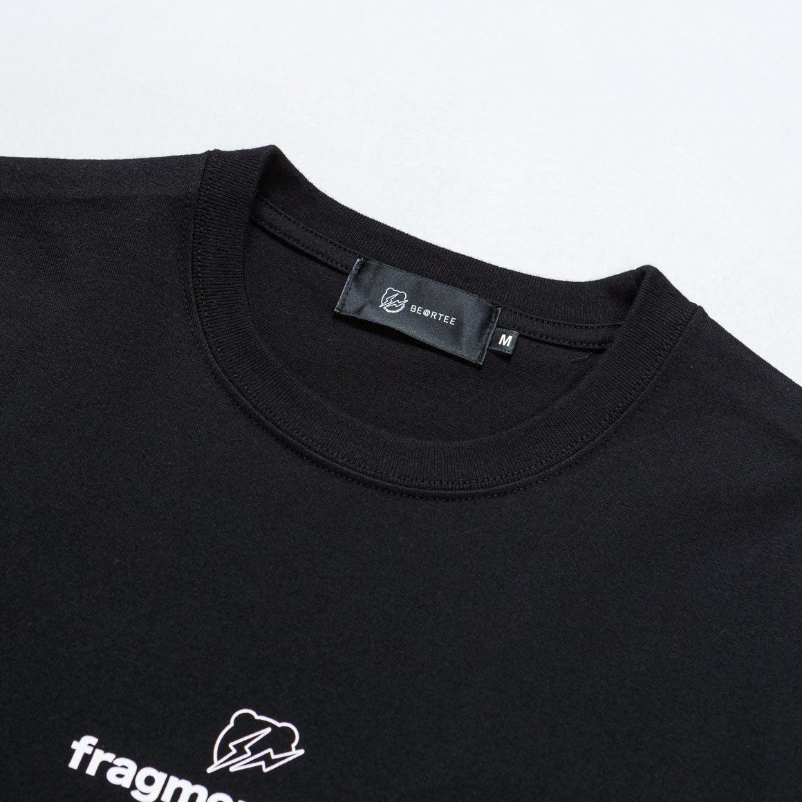 Medicom Toy - Fragment Logo Tee - Black - Up There
