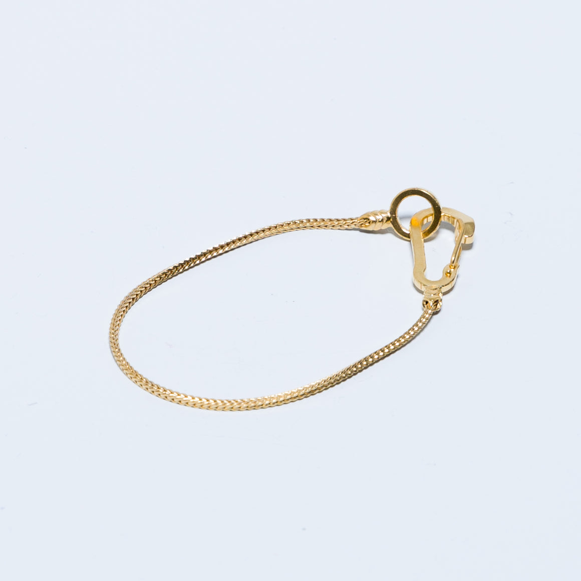 Snake Karabiner Bracelet - Brass - Up There