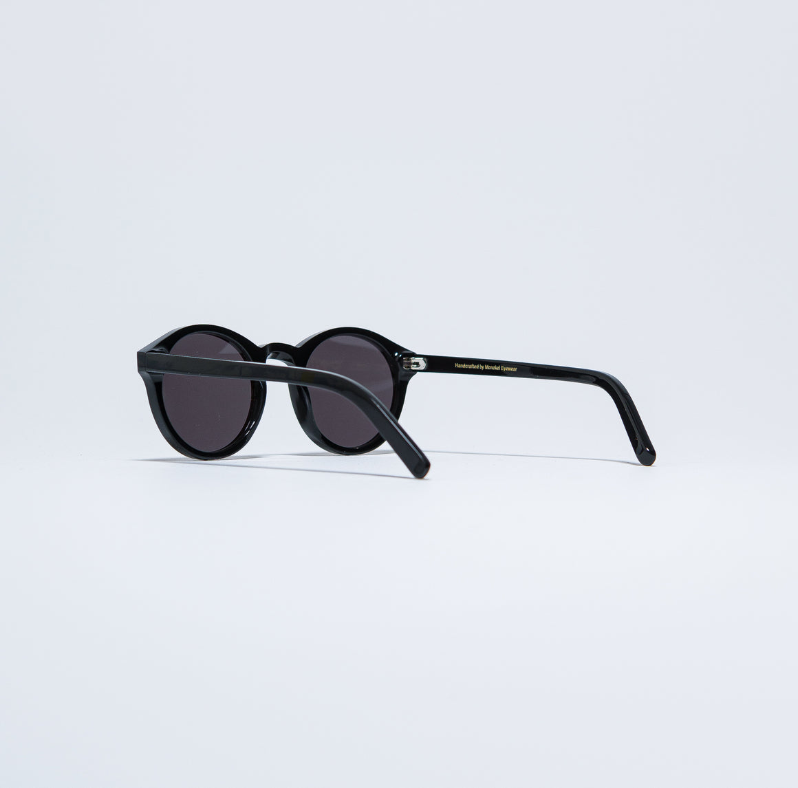 Monokel Eyewear - Barstow - Black/Solid Grey - Up There
