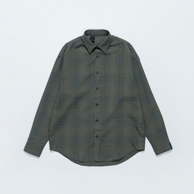N. Hoolywood - Check Shirt - Khaki - Up There