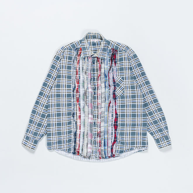 Needles - Rebuild Ribbon Flannel Shirt - 3 - Up There