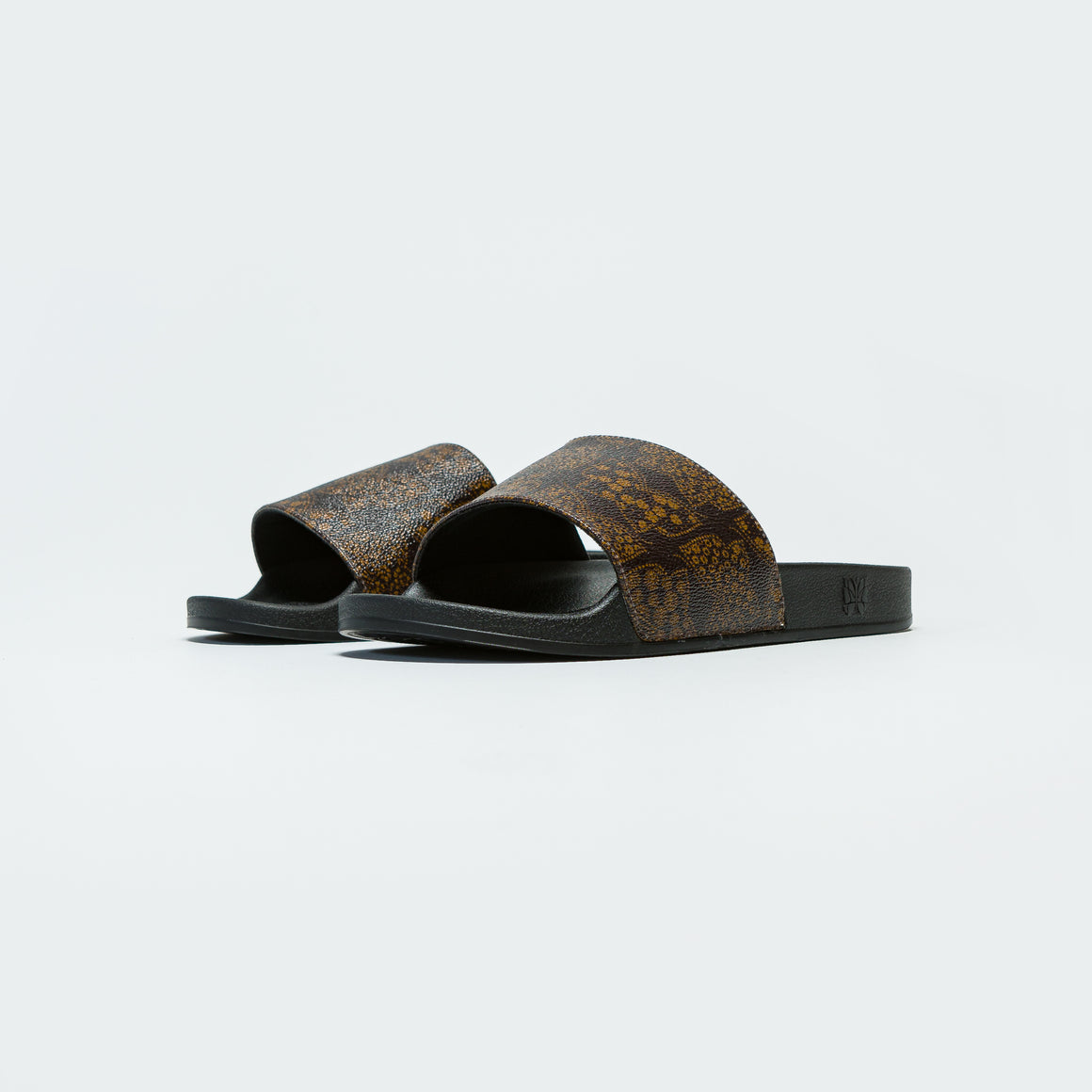 Needles - Shower Sandals - Papillon PVC Brown - Up There