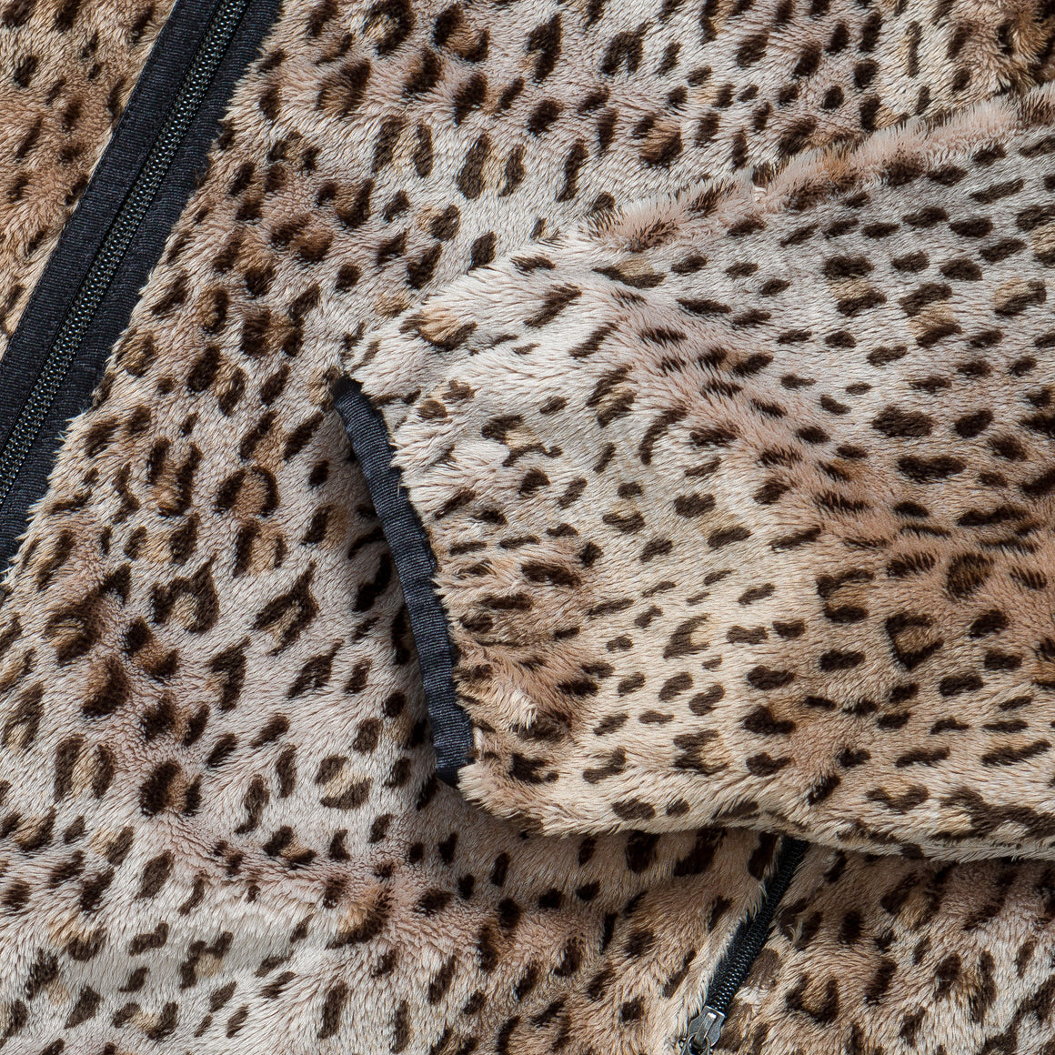 Needles - Sportswear WU Piping Jacket - Leopard Faux Fur - Up There
