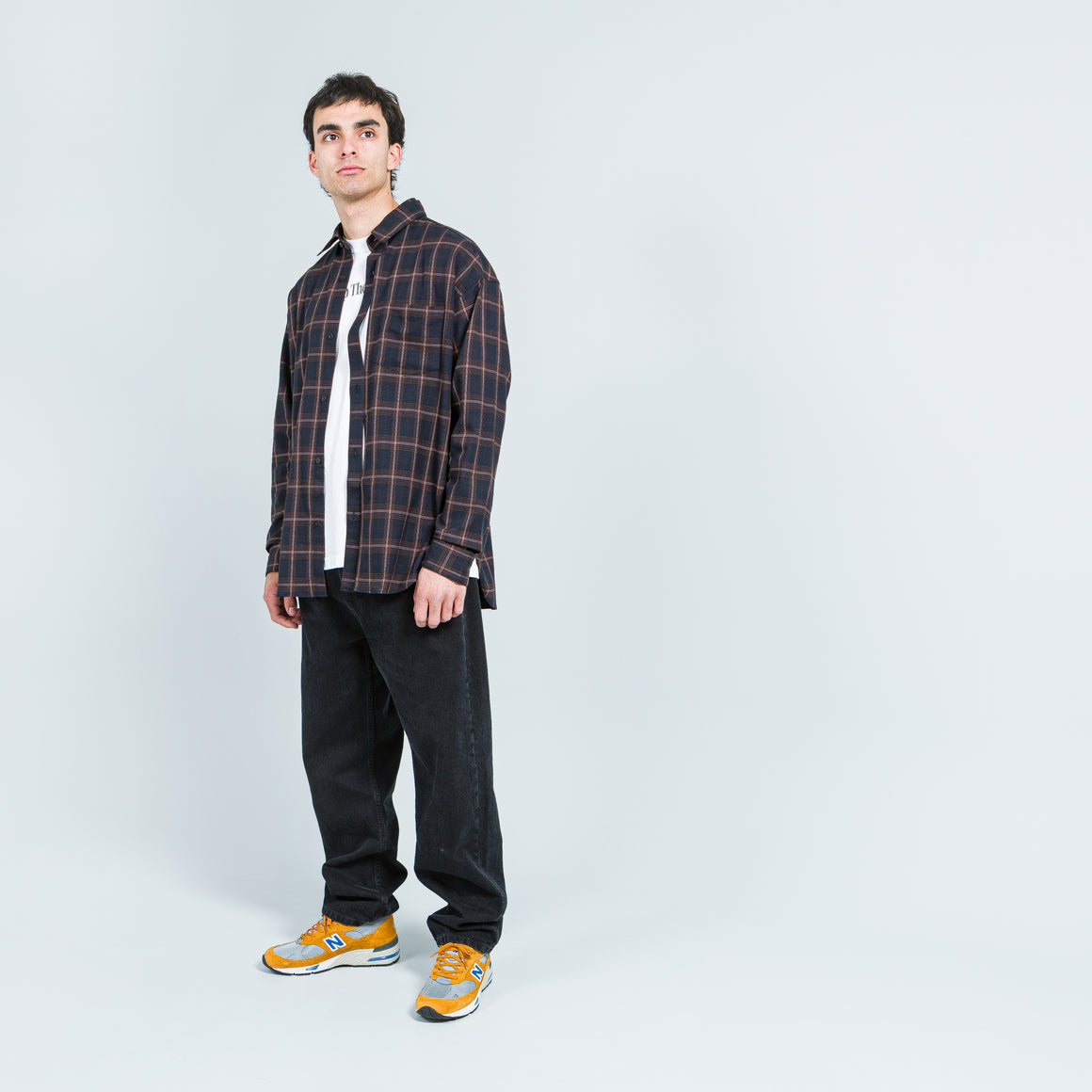 N. Hoolywood - Mismatch Shirt - BR Check - Up There