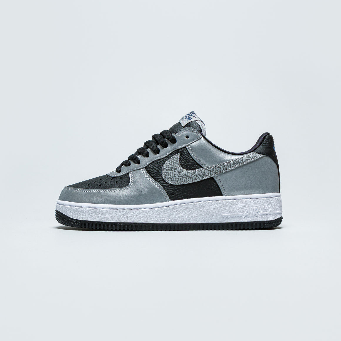 Nike | Air Force 1 B - Black/Black-Silver | Up There