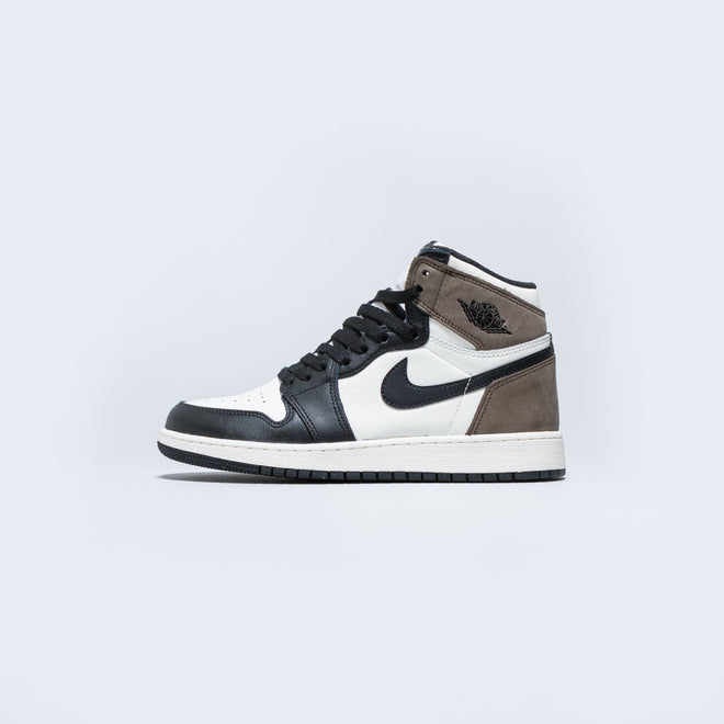Jordan - Air Jordan 1 Retro High OG GS - Sail/Dark Mocha-Black-Black - Up There