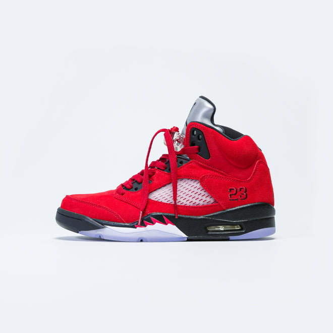 Jordan - Air Jordan 5 Retro - Varsity Red/Black-White - Up There