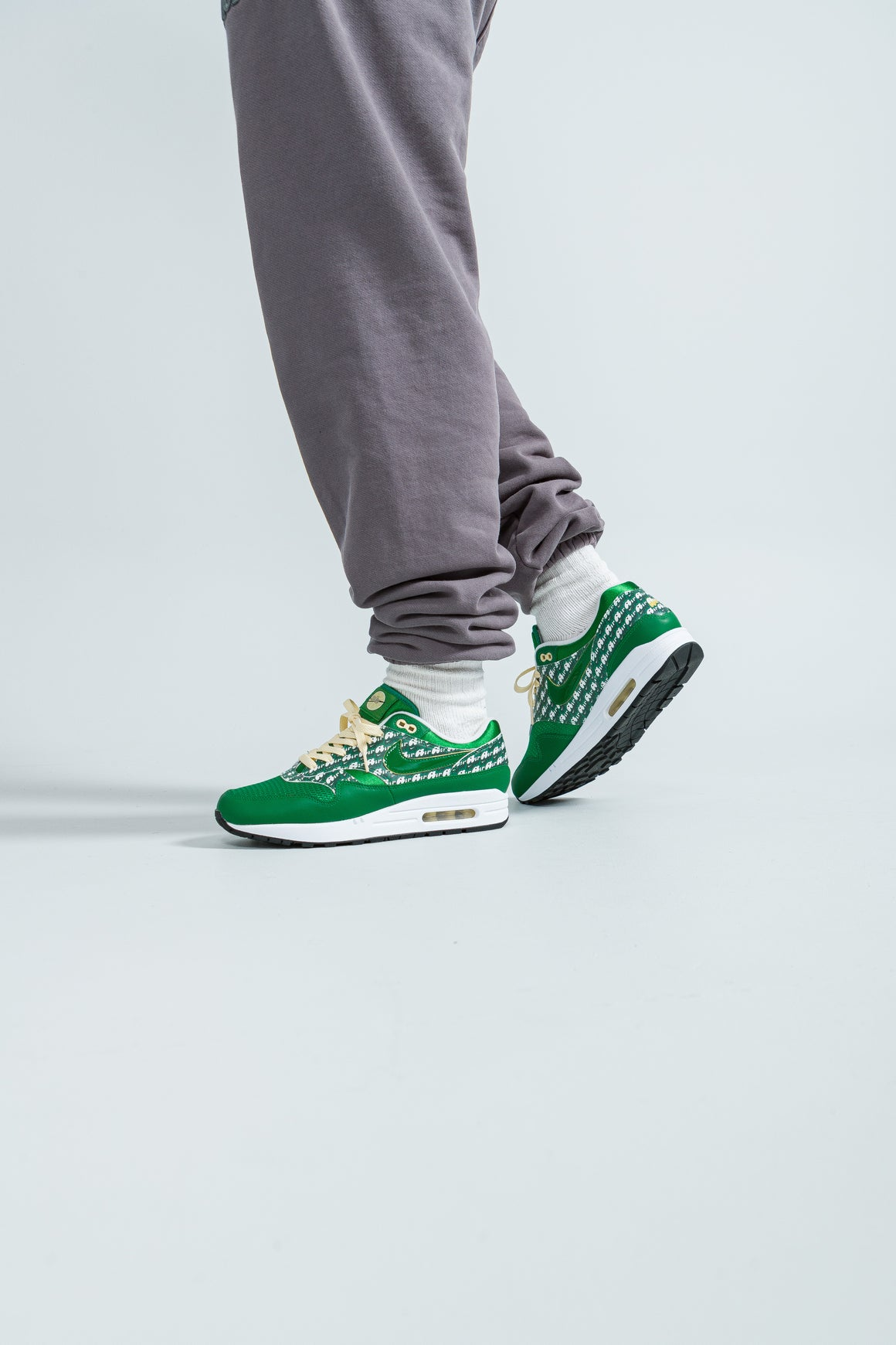 Nike - Air Max 1 Premium - Pine Green/Pine Green-True White - Up There