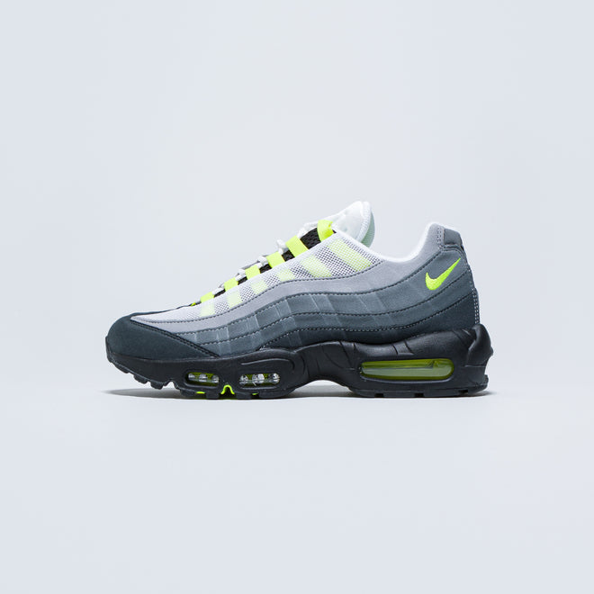 Nike - Air Max 95 OG - Black/Neon Yellow-Lt Graphite - Up There