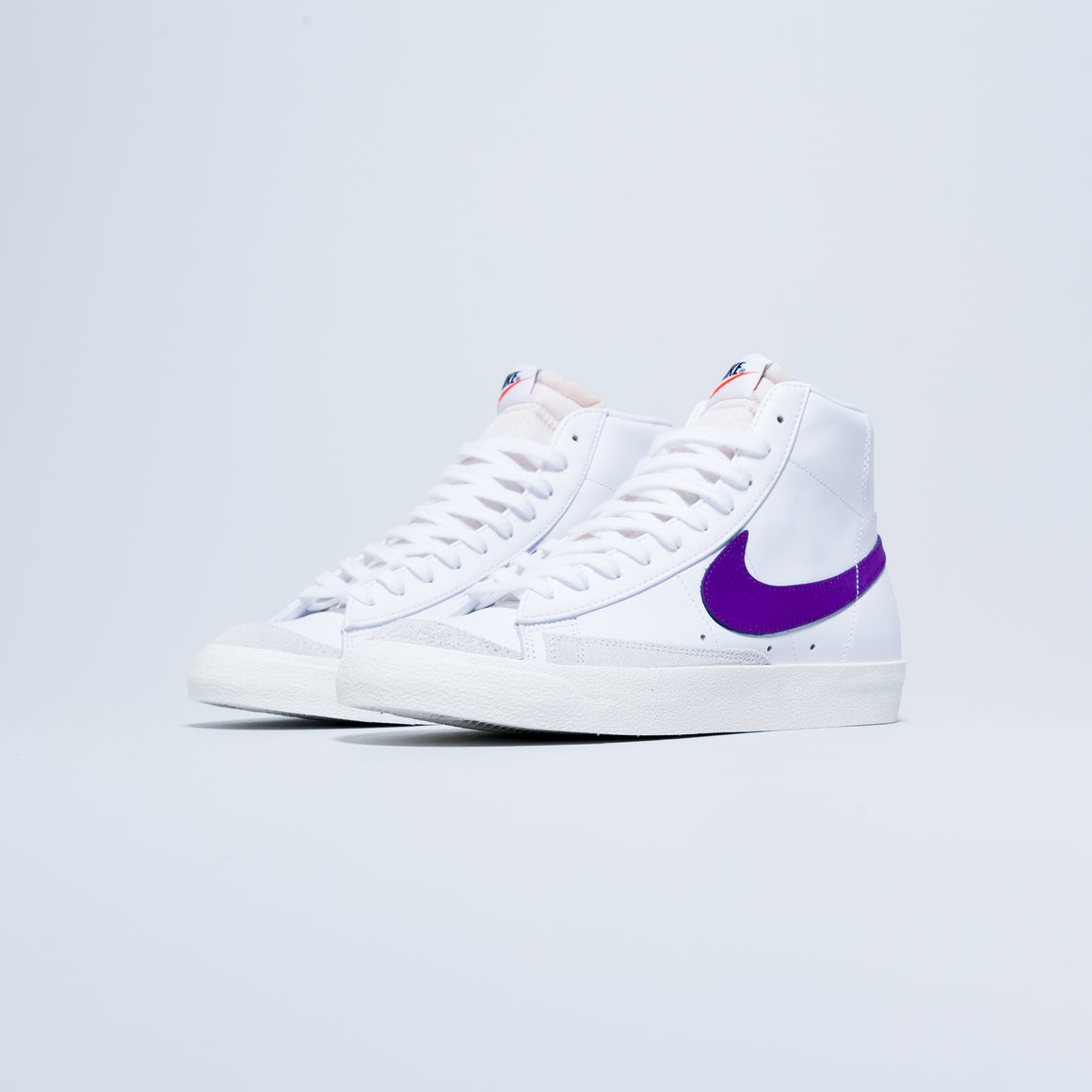 Nike - Blazer Mid '77 VNTG - White/Voltage Purple-Sail - Up There