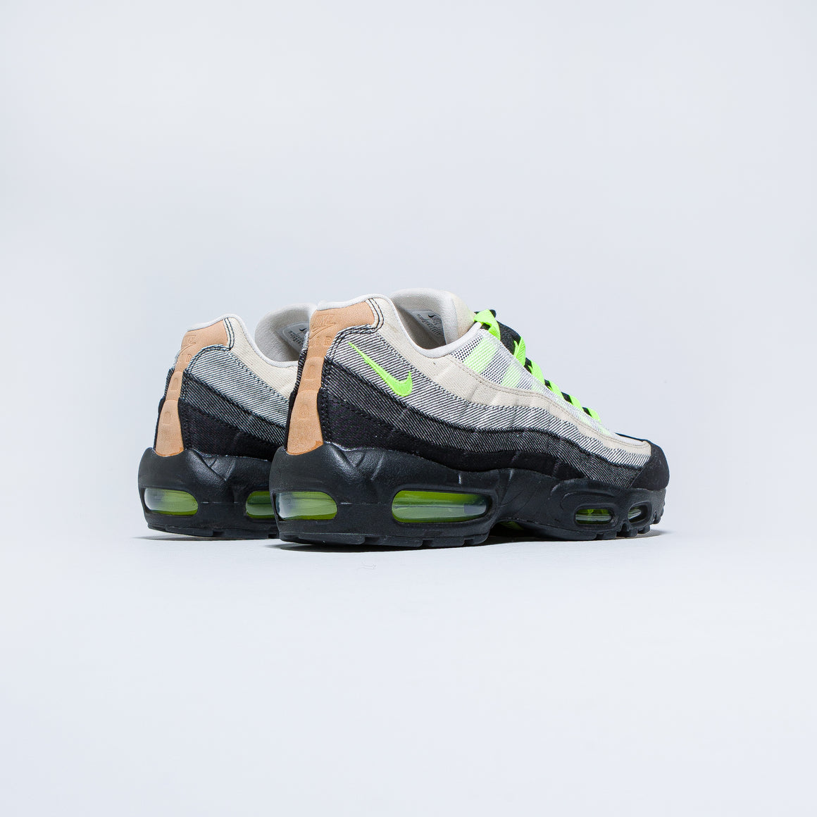Nike - Air Max 95 x Denham - Black/Volt-Summit White - Up There