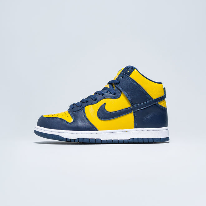 Nike - Dunk High SP - Varsity Maize/Midnight Navy - Up There