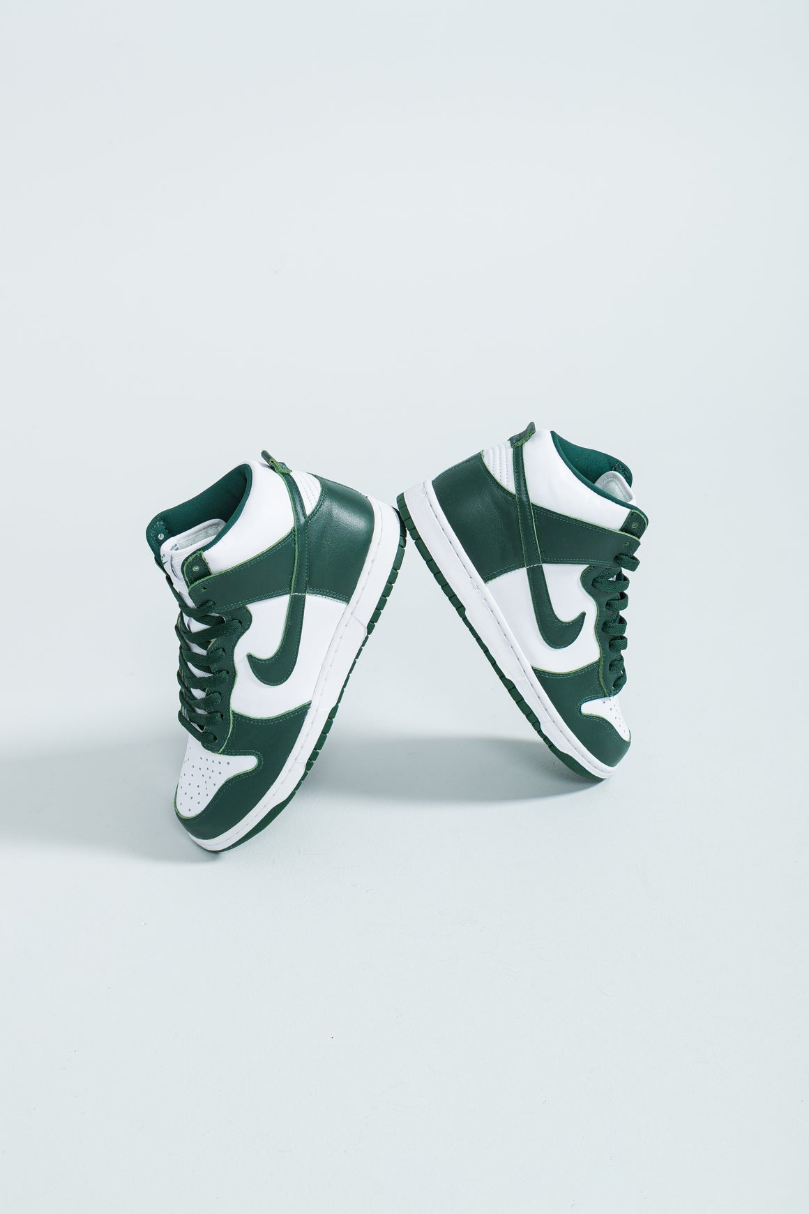 Dunk Hi SP - White/Pro Green-Pro Green