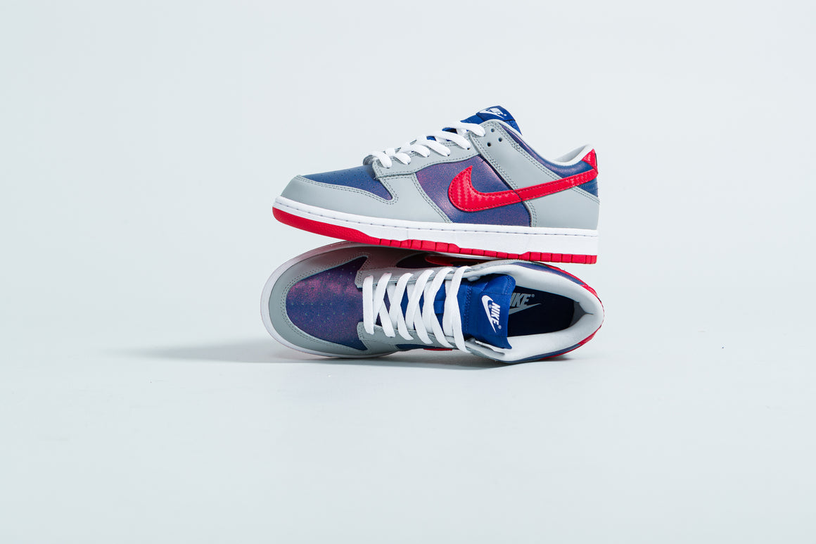 Nike - Dunk Low SP - Hyper Blue/Samba-Silver - Up There