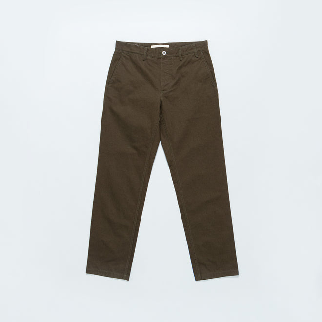 Norse Projects - Aros Heavy Chino - Beech Green - Up There