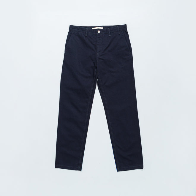 Norse Projects - Aros Heavy Chino - Dark Navy - Up There