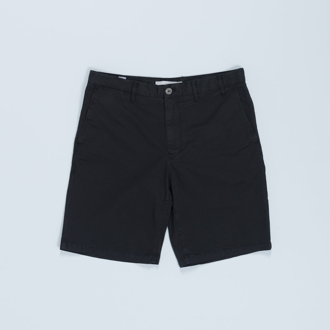 Aros Light Twill Shorts - Black - Up There