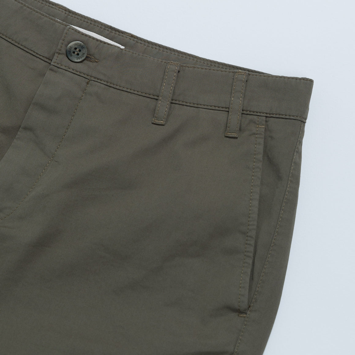 Aros Light Twill Shorts - Ivy Green - Up There