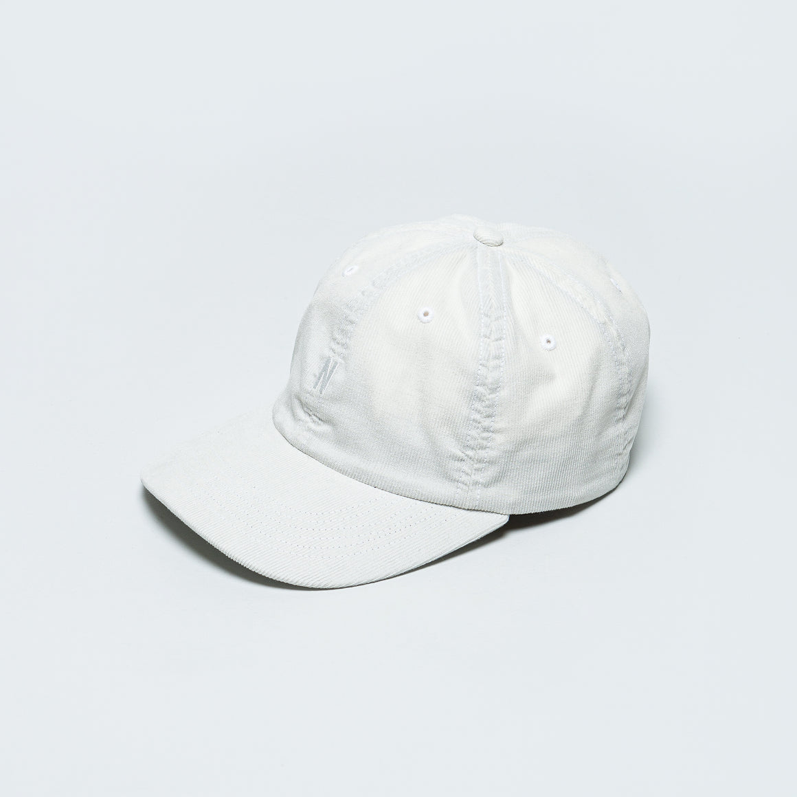 Norse Projects - Baby Corduroy Sports Cap - Oatmeal - Up There