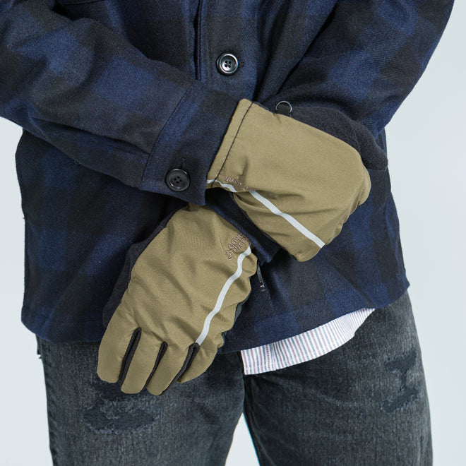 Norse Projects - Hidra Windstopper Glove - Shale Stone - Up There