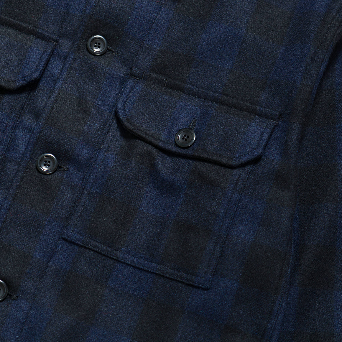 Norse Projects - Kyle Wool Shirt - Dark Navy - Up There