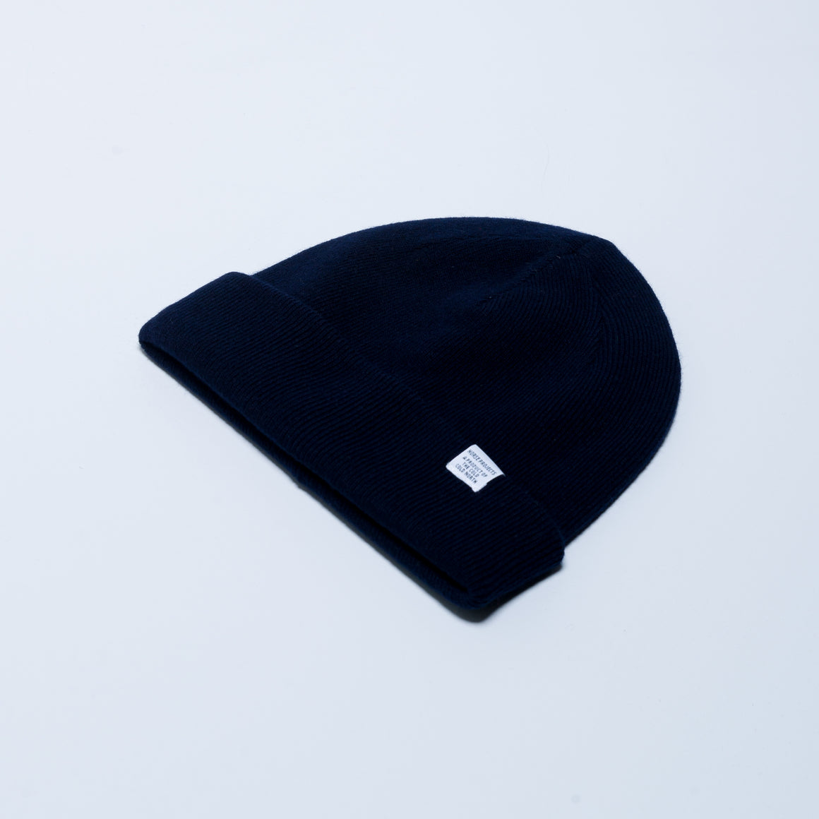 Light Wool Beanie - Dark Navy - Up There