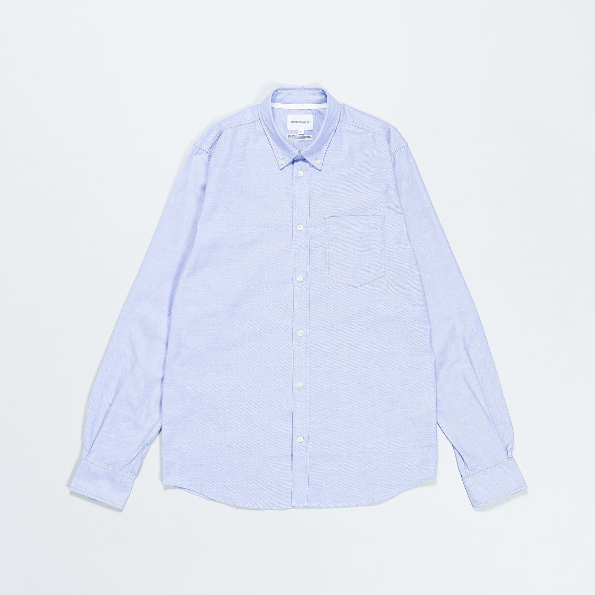 Norse Projects - Anton Oxford - Pale Blue - Up There