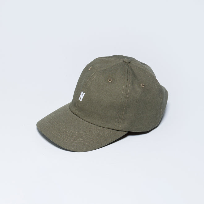 Norse Projects - Twill Sports Cap - Ivy Green - Up There