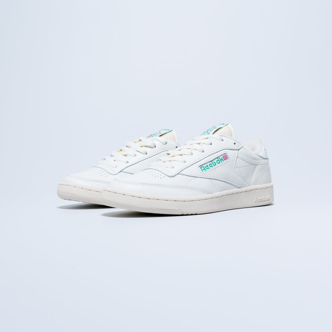 Reebok - Club C 1985 TV - Chalk/Paperwhite/Glen Green - Up There