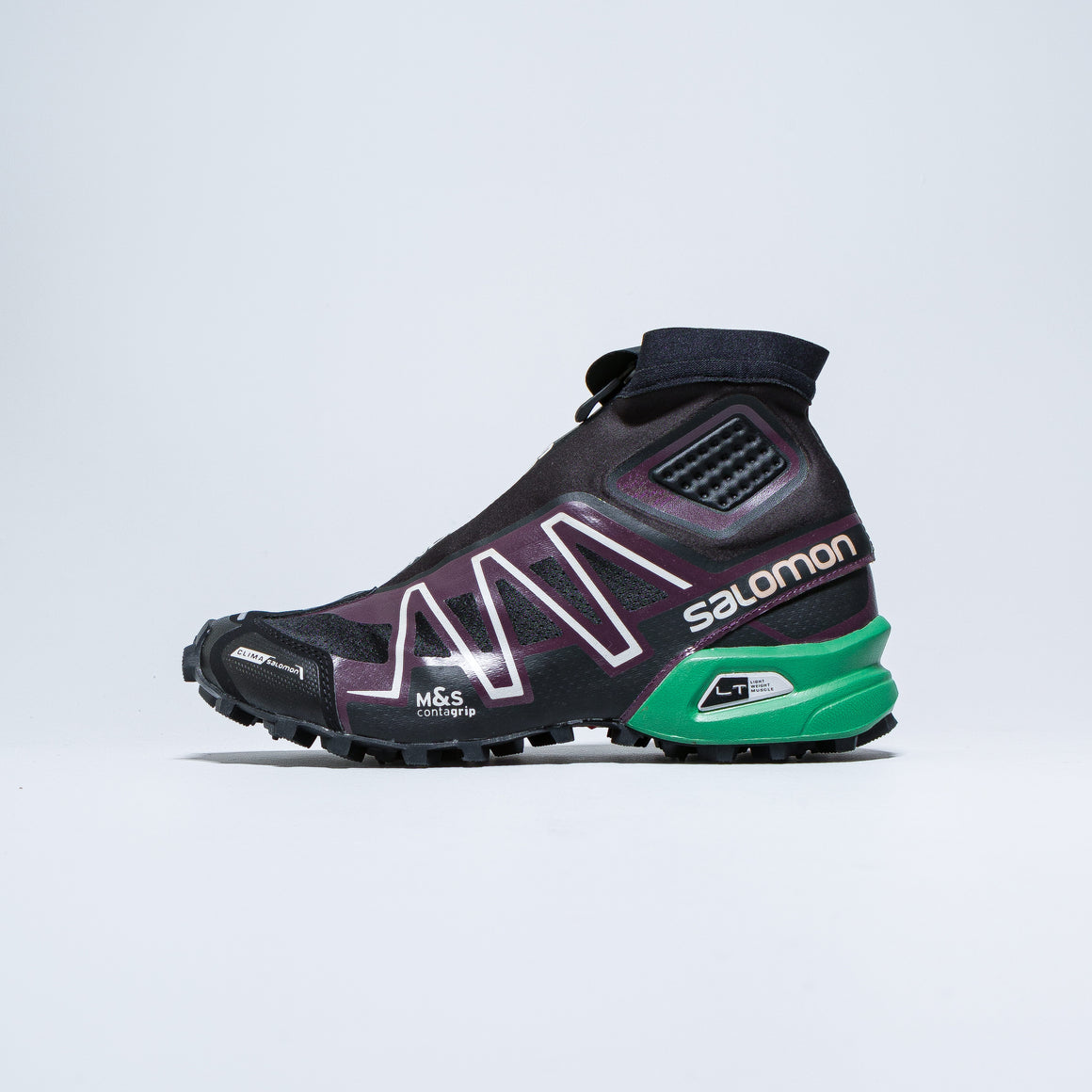 Salomon - Snowcross - Black/Maverick/Amazon - Up There