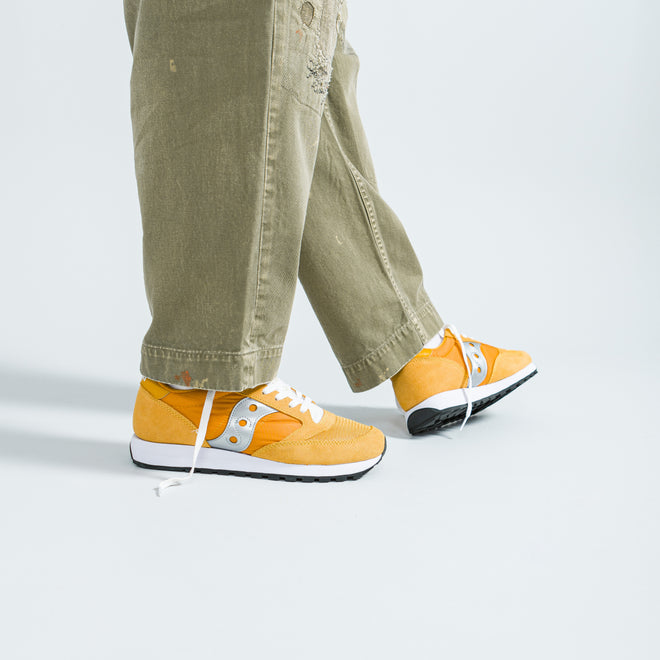 Saucony - Jazz Original Vintage - Yellow/White/Silver - Up There