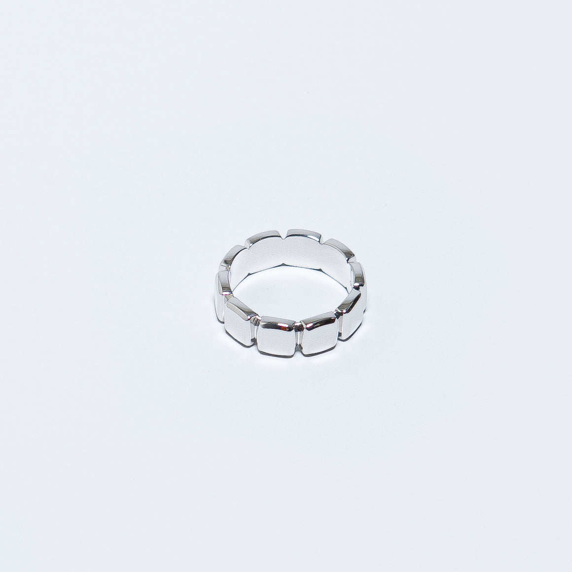 Tom Wood - Cushion Band - 925 Sterling Silver - Up There