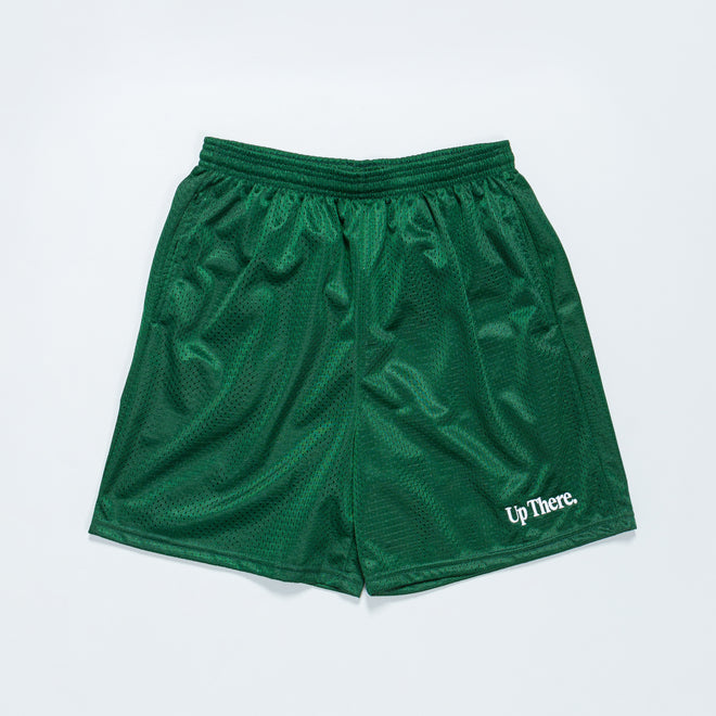 Up There - Baller Shorts - Hunter Green - Up There