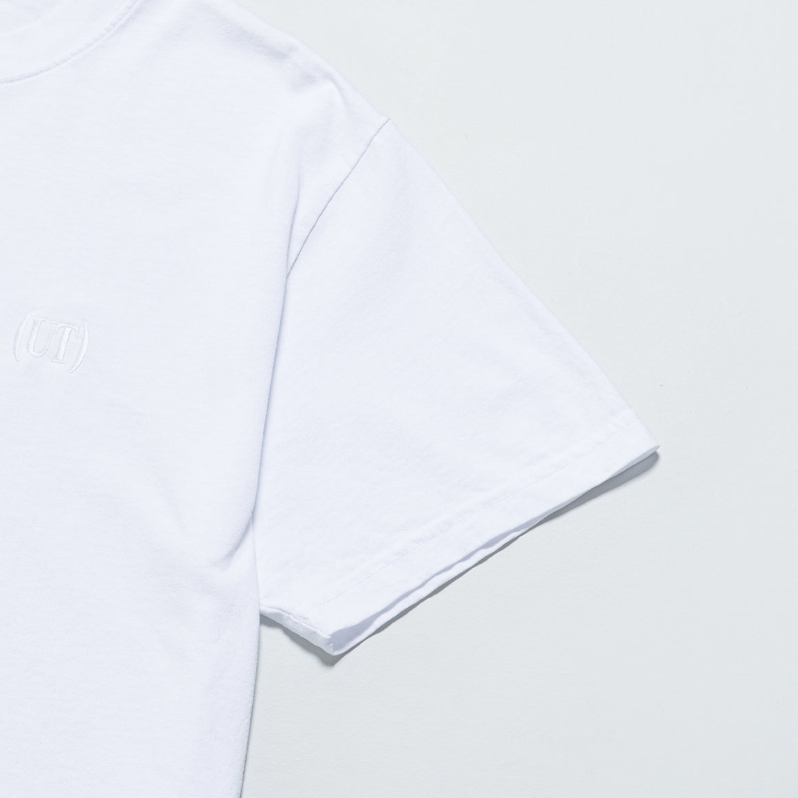 Up There - Bracket Logo Short Sleeve Tee - Lucent White - Up There
