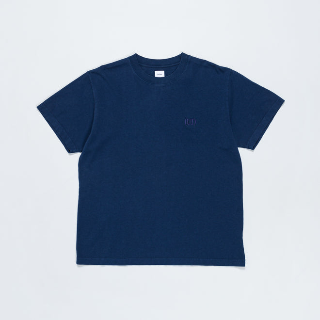 Up There - Bracket Logo Short Sleeve Tee - Pageant Blue - Up There