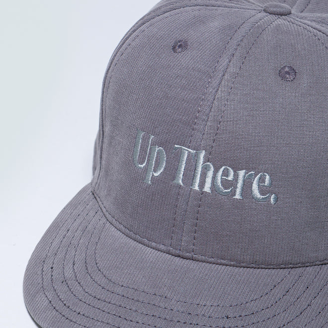 Up There - Logo Baseball Cap - Grey - Up There