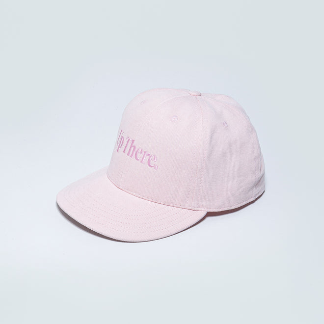 Up There - Logo Baseball Cap - Pink - Up There