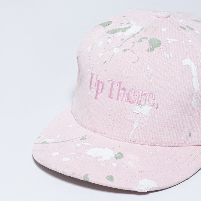 Up There - Logo Baseball Cap Remake - Pink - Up There