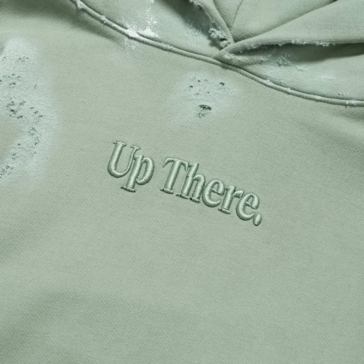 Up There - Heavyweight Pullover Hoodie Remake - Iceberg - Up There